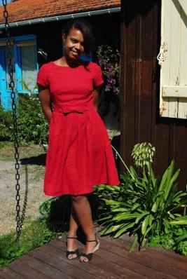 emery dress christine haynes