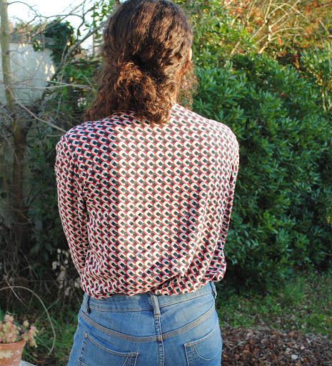 Anderson blouse sew over it